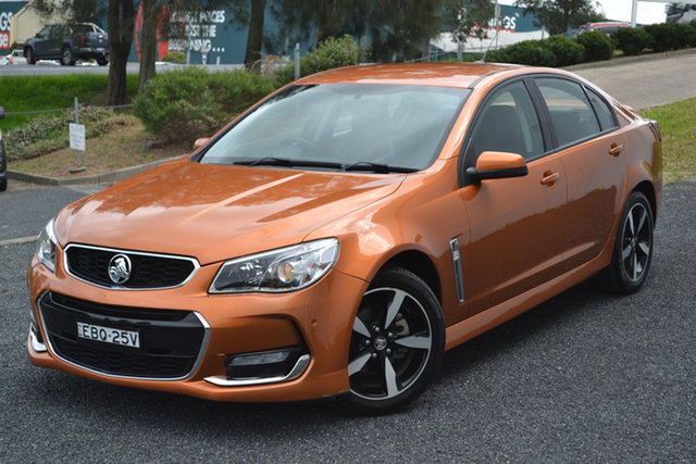 Used Holden Commodore VF II MY17 SV6 Maitland, 2017 Holden Commodore VF II MY17 SV6 Light My Fire 6 Speed Sports Automatic Sedan