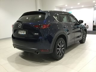 2017 Mazda CX-5 KF4WLA GT SKYACTIV-Drive i-ACTIV AWD Deep Crystal Blue/kf 6 Speed Sports Automatic.