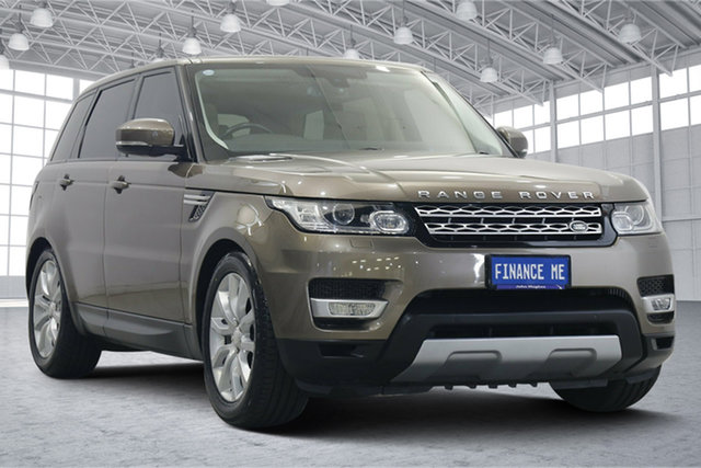 Used Land Rover Range Rover Sport L494 MY14.5 HSE Victoria Park, 2014 Land Rover Range Rover Sport L494 MY14.5 HSE Bronze 8 Speed Sports Automatic Wagon