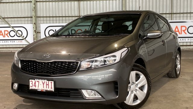 Used Kia Cerato BD MY19 S Rocklea, 2018 Kia Cerato BD MY19 S Grey 6 Speed Sports Automatic Hatchback