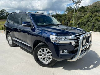 2015 Toyota Landcruiser VDJ200R Sahara Blue 6 Speed Sports Automatic Wagon.