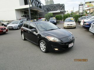 2009 Mazda 3 BK MY08 Maxx Sport Black 4 Speed Auto Activematic Hatchback