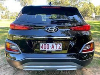 2020 Hyundai Kona OS.3 MY20 Elite 2WD Phantom Black 6 Speed Sports Automatic Wagon