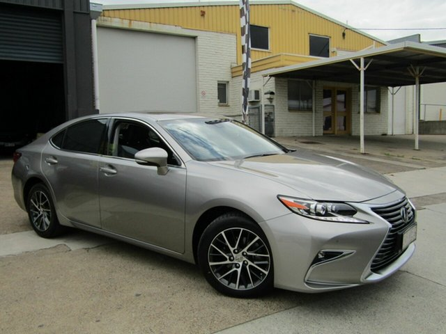 Used Lexus ES GSV60R ES350 Sports Luxury Moorooka, 2016 Lexus ES GSV60R ES350 Sports Luxury Silver 6 Speed Sports Automatic Sedan