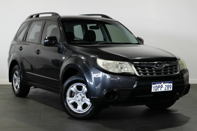 Used Subaru Forester S3 MY11 X AWD Bayswater, 2011 Subaru Forester S3 MY11 X AWD Grey 4 Speed Sports Automatic Wagon