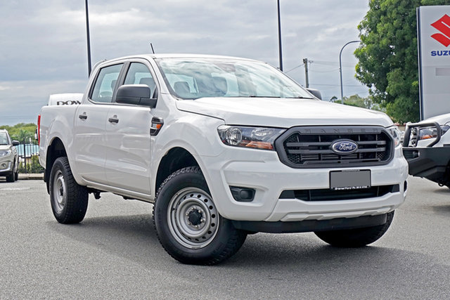 Used Ford Ranger PX MkIII 2020.75MY XL Ebbw Vale, 2020 Ford Ranger PX MkIII 2020.75MY XL Arctic White 6 Speed Sports Automatic Double Cab Pick Up