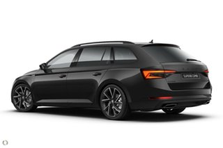 2020 Skoda Superb NP MY21 206TSI DSG SportLine Black 6 Speed Sports Automatic Dual Clutch Wagon.
