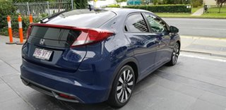 2014 Honda Civic FK MY14 VTi-L Blue 5 Speed Automatic Hatchback