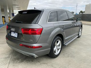 2016 Audi Q7 4M MY16 TDI Tiptronic Quattro Grey 8 Speed Sports Automatic Wagon