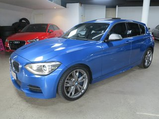 2013 BMW 1 Series F20 MY0713 M135i Estoril Blue 8 Speed Sports Automatic Hatchback