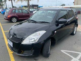 2011 Suzuki Swift FZ GL Black 4 Speed Automatic Hatchback.
