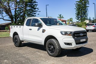 2016 Ford Ranger PX MkII XL White 6 Speed Manual Utility.