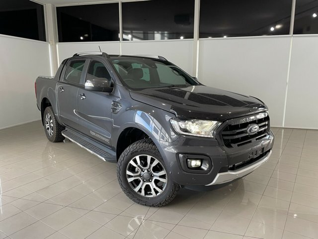 Used Ford Ranger PX MkIII 2019.75MY Wildtrak Deer Park, 2019 Ford Ranger PX MkIII 2019.75MY Wildtrak Grey 10 Speed Sports Automatic Double Cab Pick Up