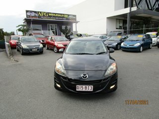 2009 Mazda 3 BK MY08 Maxx Sport Black 4 Speed Auto Activematic Hatchback.