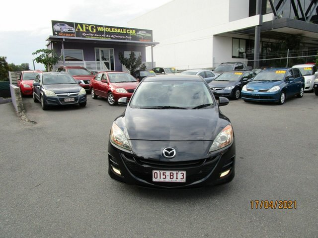 Used Mazda 3 BK MY08 Maxx Sport Coorparoo, 2009 Mazda 3 BK MY08 Maxx Sport Black 4 Speed Auto Activematic Hatchback