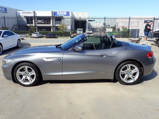 2009 BMW Z4 E89 sDrive 30I Dolphin Grey 6 Speed Auto Steptronic Roadster