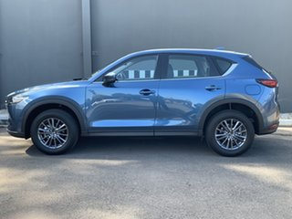 2021 Mazda CX-5 KF4WLA Touring SKYACTIV-Drive i-ACTIV AWD Eternal Blue 6 Speed Sports Automatic.