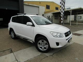 2011 Toyota RAV4 ACA38R MY11 CV 4x2 White 4 Speed Automatic Wagon.