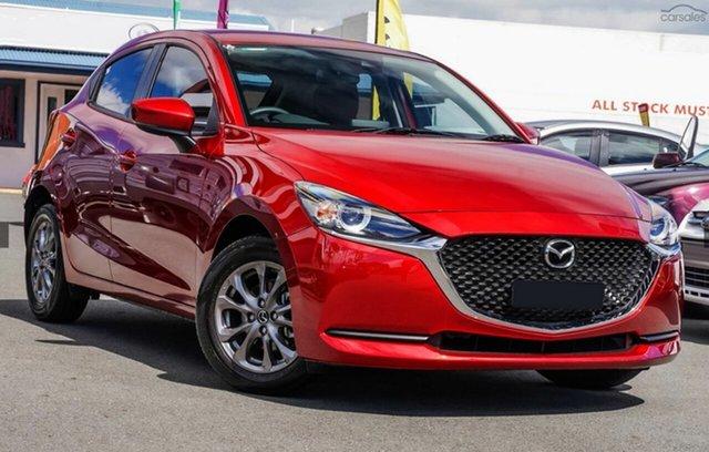 New Mazda 2 Mornington, 2021 Mazda 2 MAZDA2 Q 6AUTO HATCH PURE Soul Red Crystal Hatchback