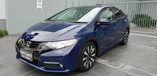 2014 Honda Civic FK MY14 VTi-L Blue 5 Speed Automatic Hatchback.