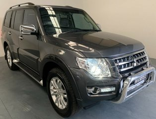 2018 Mitsubishi Pajero NX MY19 GLS Grey 5 Speed Sports Automatic Wagon.