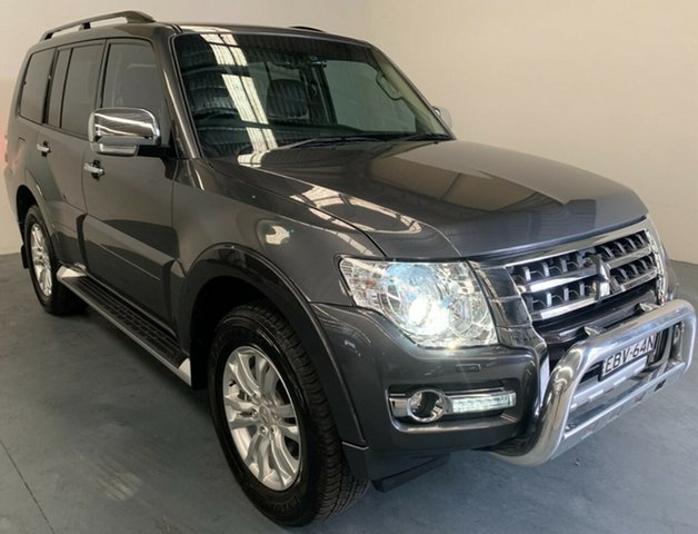 Used Mitsubishi Pajero NX MY19 GLS Newcastle West, 2018 Mitsubishi Pajero NX MY19 GLS Grey 5 Speed Sports Automatic Wagon