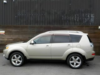 2007 Mitsubishi Outlander ZG MY07 XLS Beige 6 Speed Constant Variable Wagon