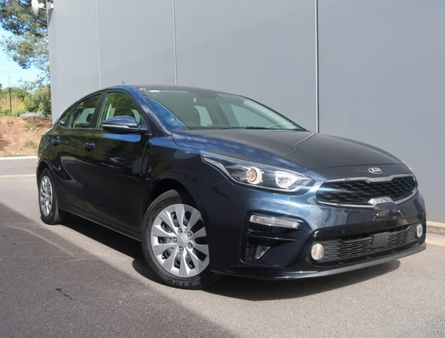 Used Kia Cerato BD MY19 S Reynella, 2018 Kia Cerato BD MY19 S Blue 6 Speed Sports Automatic Hatchback