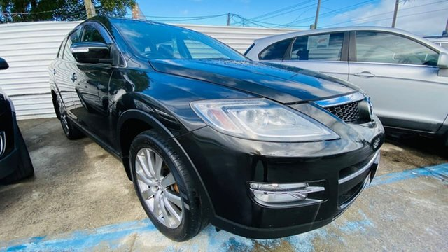 Used Mazda CX-9 TB10A1 Luxury Maidstone, 2008 Mazda CX-9 TB10A1 Luxury Black 6 Speed Sports Automatic Wagon