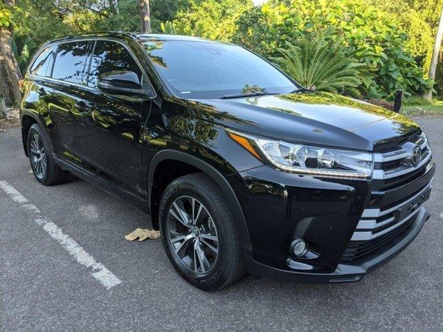 Used Toyota Kluger GSU55R GX AWD Stuart Park, 2018 Toyota Kluger GSU55R GX AWD Black 8 Speed Sports Automatic Wagon