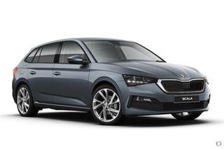 2020 Skoda Scala NW MY21 110TSI DSG Grey 7 Speed Sports Automatic Dual Clutch Hatchback.