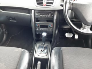 2007 Peugeot 207 A7 XE Red 4 Speed Sports Automatic Hatchback