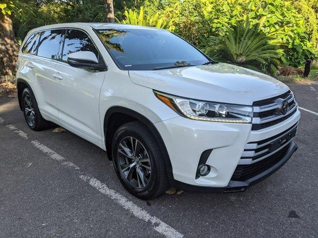 Used Toyota Kluger GSU55R GX AWD Stuart Park, 2018 Toyota Kluger GSU55R GX AWD White 8 Speed Sports Automatic Wagon