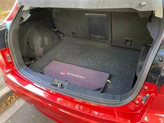 2011 Mitsubishi ASX XA MY11 2WD Red 5 Speed Manual Wagon