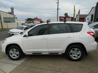 2011 Toyota RAV4 ACA38R MY11 CV 4x2 White 4 Speed Automatic Wagon