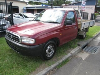 2001 Mazda B2600 Bravo DX Maroon 5 Speed Manual Pickup.