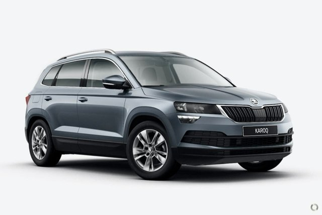 New Skoda Karoq NU MY21 110TSI FWD Seaford, 2021 Skoda Karoq NU MY21 110TSI FWD Grey 8 Speed Automatic Wagon