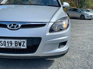 2011 Hyundai i30 FD MY11 SX Silver 4 Speed Automatic Hatchback