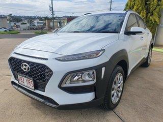 2018 Hyundai Kona OS.2 MY19 Go 2WD White 6 Speed Sports Automatic Wagon