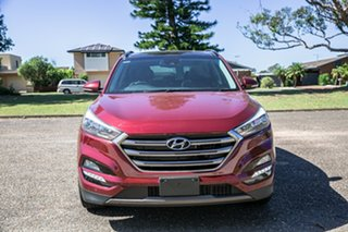 2015 Hyundai Tucson TLE Highlander D-CT AWD Red 7 Speed Sports Automatic Dual Clutch Wagon.