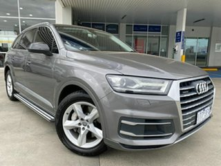 2016 Audi Q7 4M MY16 TDI Tiptronic Quattro Grey 8 Speed Sports Automatic Wagon.