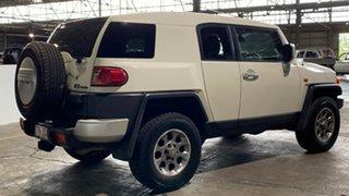 2012 Toyota FJ Cruiser GSJ15R White 5 Speed Automatic Wagon