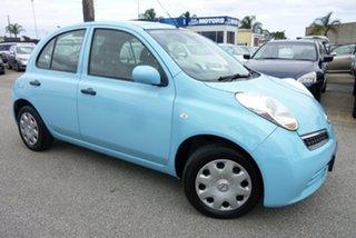 2008 Nissan Micra K12 Powder Blue 4 Speed Automatic Hatchback.