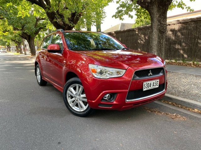 Pre-Owned Mitsubishi ASX XA MY11 2WD Hawthorn, 2011 Mitsubishi ASX XA MY11 2WD Red 5 Speed Manual Wagon