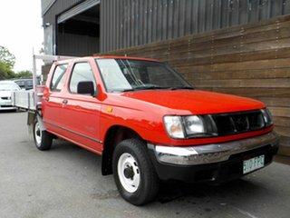 2000 Nissan Navara D22 S2 DX 4x2 Red 4 Speed Automatic Utility.