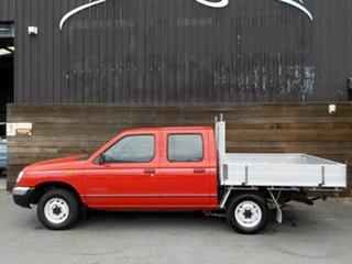 2000 Nissan Navara D22 S2 DX 4x2 Red 4 Speed Automatic Utility