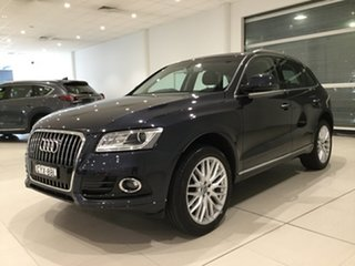 2015 Audi Q5 8R MY15 TFSI Tiptronic Quattro Moonlight Blue 8 Speed Sports Automatic Wagon