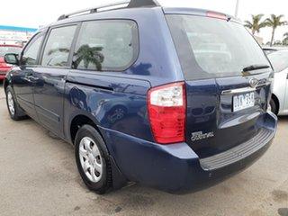 2006 Kia Grand Carnival VQ EX-L Blue Metallic 5 Speed Sports Automatic Wagon.