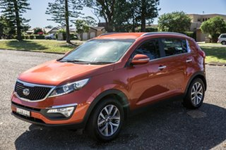 2015 Kia Sportage SL MY14 Si 2WD Premium Orange 6 Speed Sports Automatic Wagon.