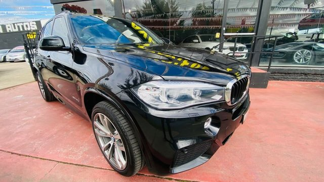 Used BMW X5 F15 xDrive30d Maidstone, 2015 BMW X5 F15 xDrive30d Black 8 Speed Sports Automatic Wagon